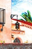 Domowy cukierki dom w dniu Zdjęcie Royalty Free