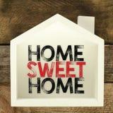 Domowy cukierki domu znak Obrazy Royalty Free