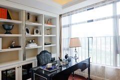 Domowy czytelniczy pokój fotografia royalty free
