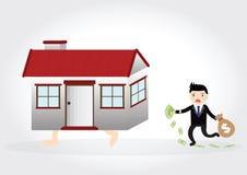 Domowy dług Zdjęcia Stock