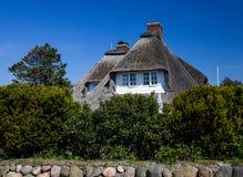 domowy dach pokrywać strzechą Fotografia Royalty Free
