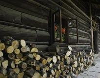 domowy drewniany obrazy stock