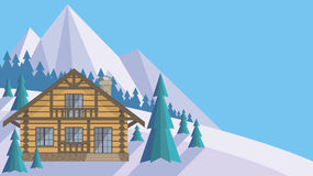 domowy drewno Obrazy Stock