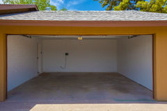 Domowy garaż Fotografia Stock