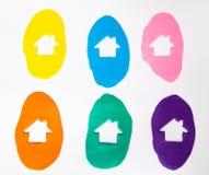 Domowy gliniany kolor Obrazy Stock