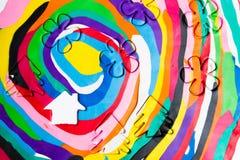 Domowy gliniany kolor Zdjęcia Stock