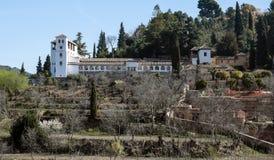 domowy Granada biel Obraz Royalty Free