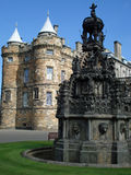 domowy holyrood pałac zdjęcie stock