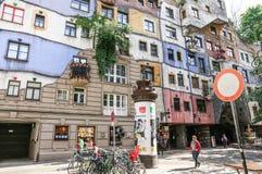 domowy hundertwasser Vienna Zdjęcie Royalty Free