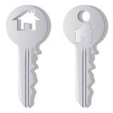 domowy klucz Zdjęcie Royalty Free
