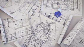 Domowy klucz na projekty ilustracja wektor