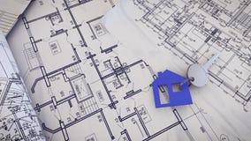 Domowy klucz na projekty ilustracji