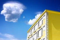 domowy kolor żółty Obrazy Stock