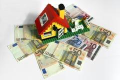 Domowy kredyt Zdjęcie Royalty Free