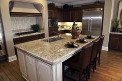 domowy kuchenny luksus Zdjęcia Royalty Free