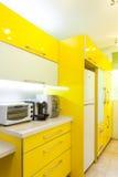 domowy kuchenny nowożytny nowy Fotografia Stock