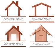 Domowy Logo ilustracji