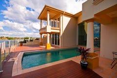 domowy luksusowy basen Zdjęcia Royalty Free