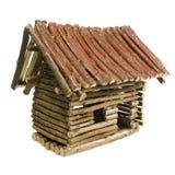 domowy mały drewniany Obraz Stock