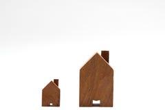 domowy mały drewniany Obraz Royalty Free