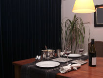 domowy mealtime obrazy stock