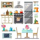 Domowy meble ilustracji