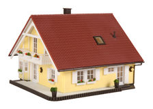 domowy model Zdjęcie Stock