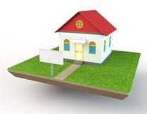 Domowy model Obrazy Royalty Free