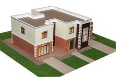Domowy model 3d Fotografia Stock