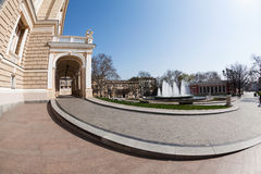 domowy Moscow opery tsaritsino fotografia stock