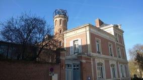 Domowy Muzealny Jules Verne w Amiens zdjęcie stock