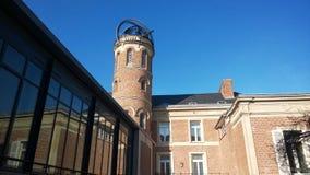 Domowy Muzealny Jules Verne w Amiens fotografia stock