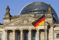domowy Niemiec parlament Zdjęcie Royalty Free