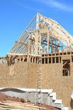 domowy nowy dach Zdjęcie Royalty Free
