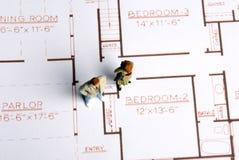 domowy nowy planowanie Zdjęcie Stock
