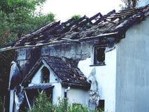 Domowy ogień, hovel, popióły, natura, ogień, drzewo ogień, niepowodzenie fotografia royalty free