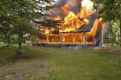 Domowy Ogień Obrazy Royalty Free