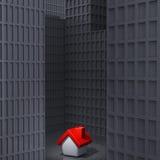 domowy osamotniony Obrazy Stock