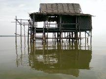 Domowy pławik na wodzie zdjęcie royalty free