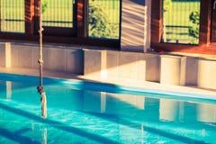 Domowy Pływacki basen Fotografia Stock