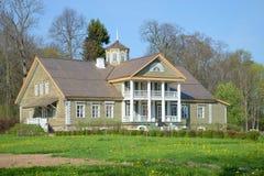 Domowy PA Hannibal przy Petrovsky, słoneczny dzień wewnątrz może Pushkin góry Obraz Royalty Free