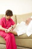 domowy pielęgnaci pulsu zabranie fotografia stock