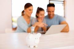 Domowy pieniężny planowanie Obrazy Stock