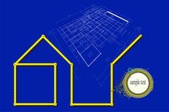 domowy plan Obrazy Royalty Free