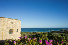 domowy pobliski morza kamienia widok Obraz Royalty Free