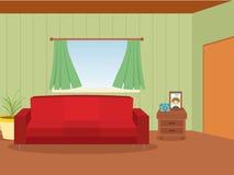 Domowy pokój ilustracja wektor
