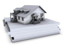 domowy polistyren ilustracji
