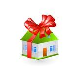Domowy prezent wektor ilustracji