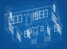 Domowy projekta architekta projekt zdjęcie stock