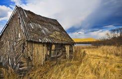 domowy stary drewniany Zdjęcia Royalty Free